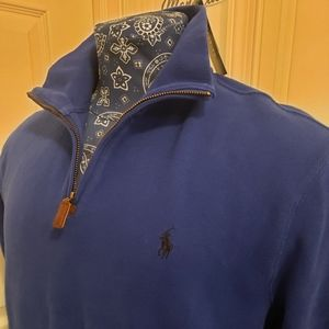 NWT POLO RALPH LAUREN Large 1/4 Zip Pullover